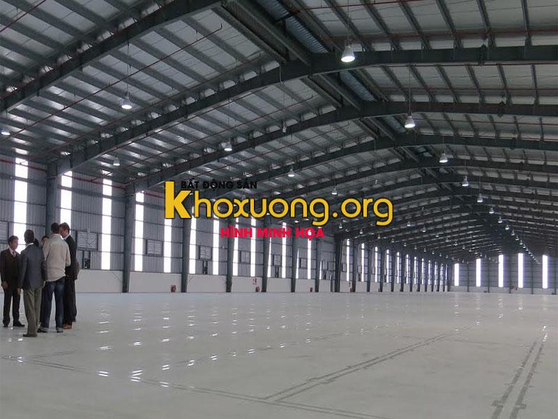 Cho thuê kho xưởng ấp 3A xã Phước Lợi, huyện Bến Lức, Tỉnh Long An