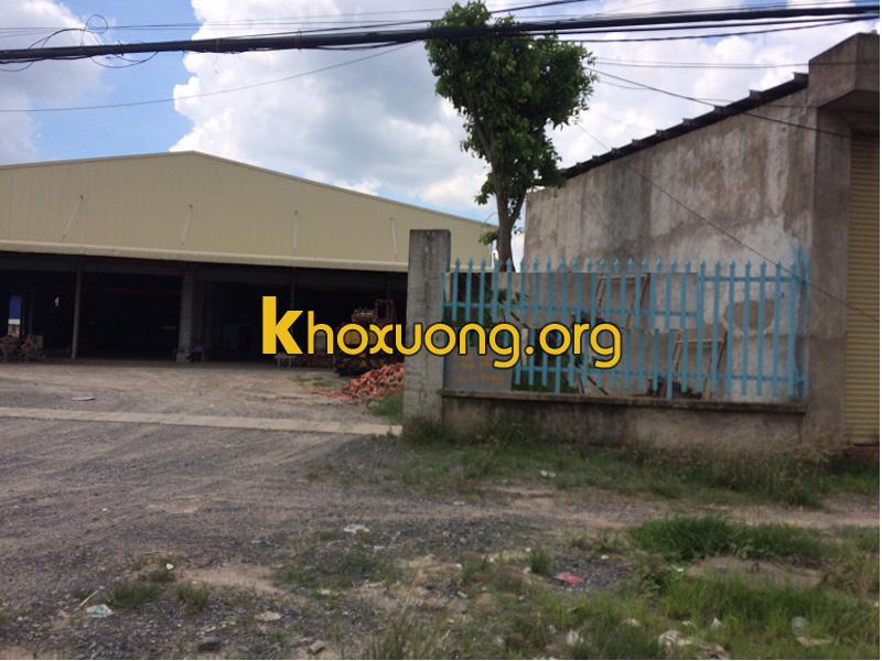 Cho thuê kho xường đường Tỉnh Lộ 825, Huyện Đức Hòa, Tỉnh Long An