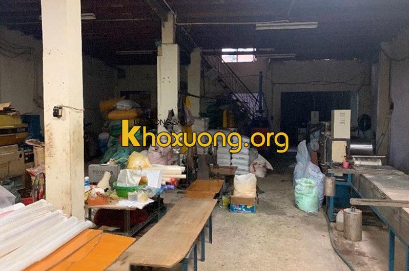 Cho thuê kho xưởng hẻm đường Nguyễn Văn Luông, Phường 12, Quận 6