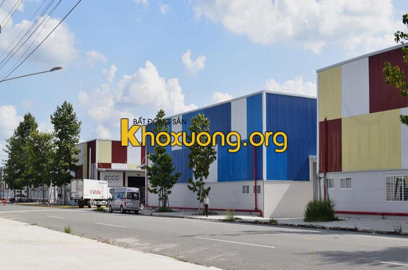 Cho thuê kho xưởng Khu công nghiệp Bàu Bàng, Xã Lai Hưng, Huyện Bàu Bàng, Tỉnh Bình Dương