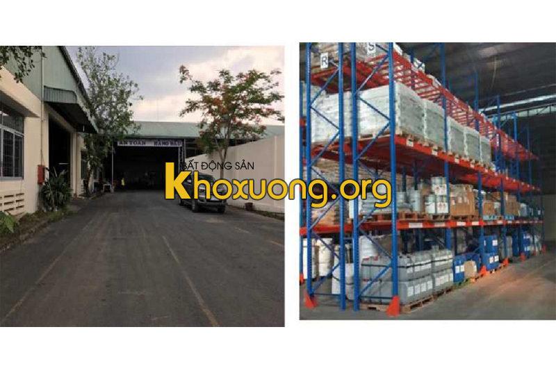 Cho thuê kho chứa hàng KCN VSIP 1, Thị xã Dĩ An, Tỉnh Bình Dương